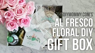 Al Fresco Floral Gift Box // Mother's Day DIY & Decor Challenge!