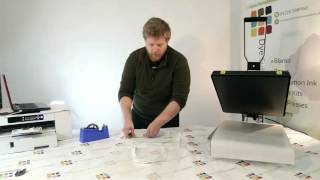 How to: sublimate a canvas bag - Sublimation printing with Dye Sublimation Supplies