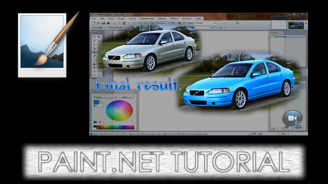 how to use recolor in paint net