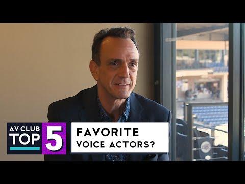 Hank Azaria Picks His Top 5 Voice Actors