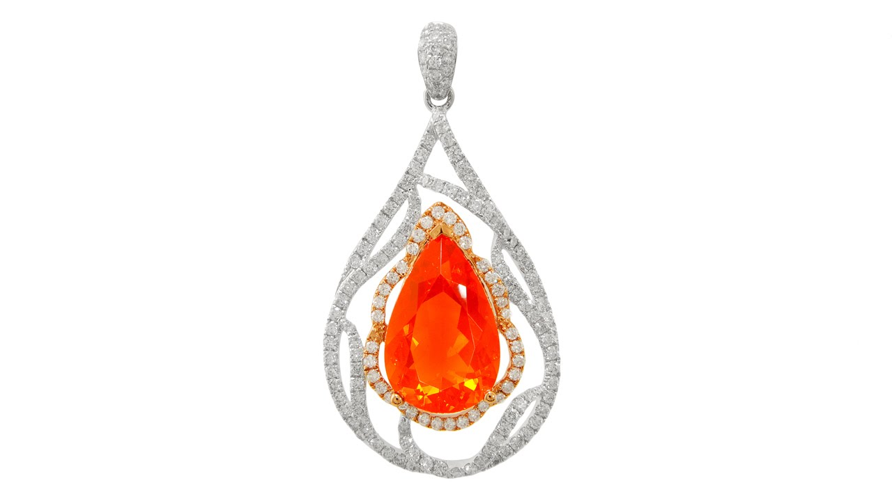 pendant silver lisa product stephanie fire and sterling opal