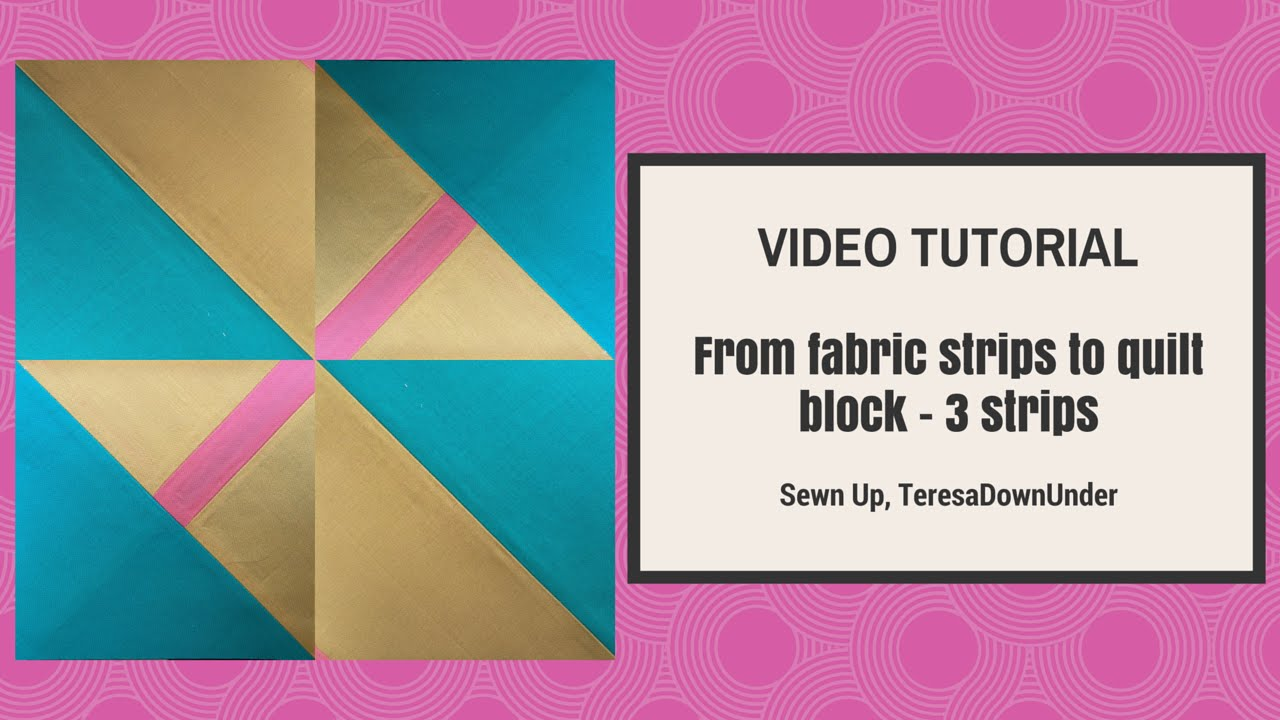 3 Fabric Quilt Patterns Cool Decorating