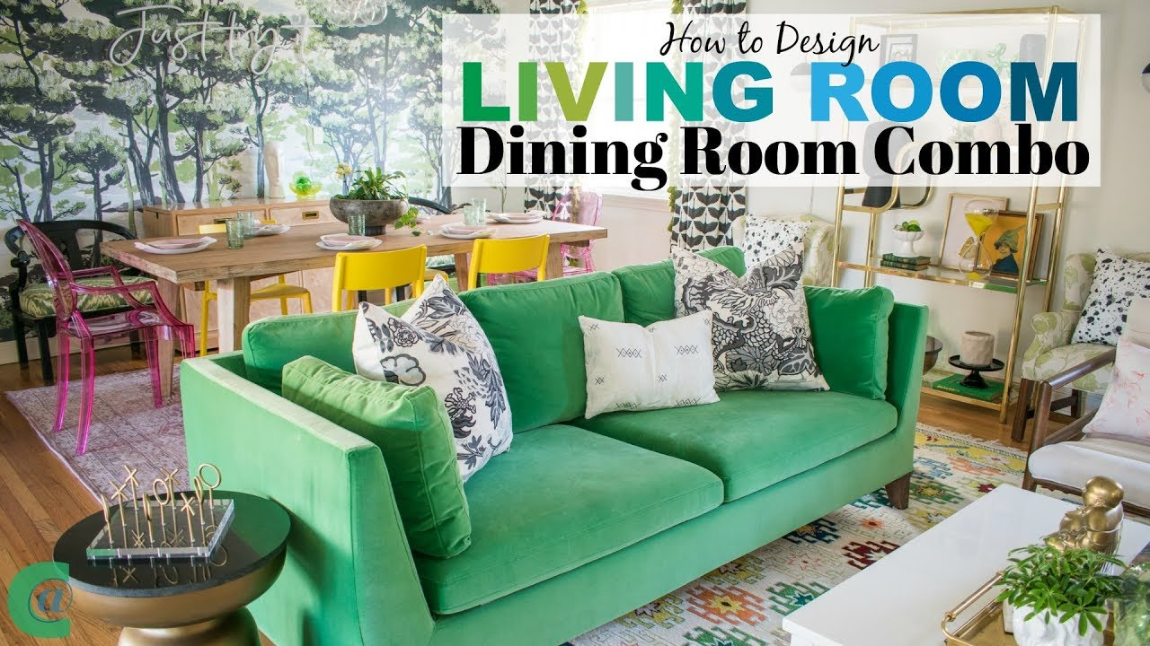 Living Room Dining Room Combo Youtube