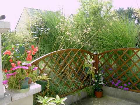 montage photo jardin