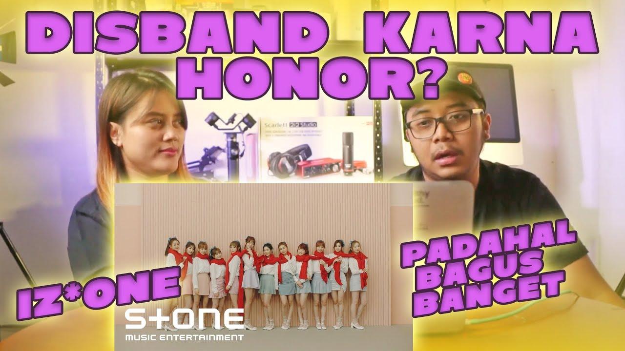 Reaction to IZ*ONE - La Vien Rose MV | KENAPA HARUS DISBAND SIH???!!