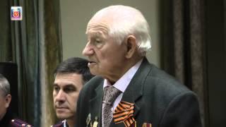 Встреча ветерана Великой Отечественной войны с детьми.