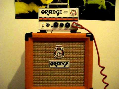 Orange Micro Terror Amplifier with PPC108 Cabinet - Demo - YouTube