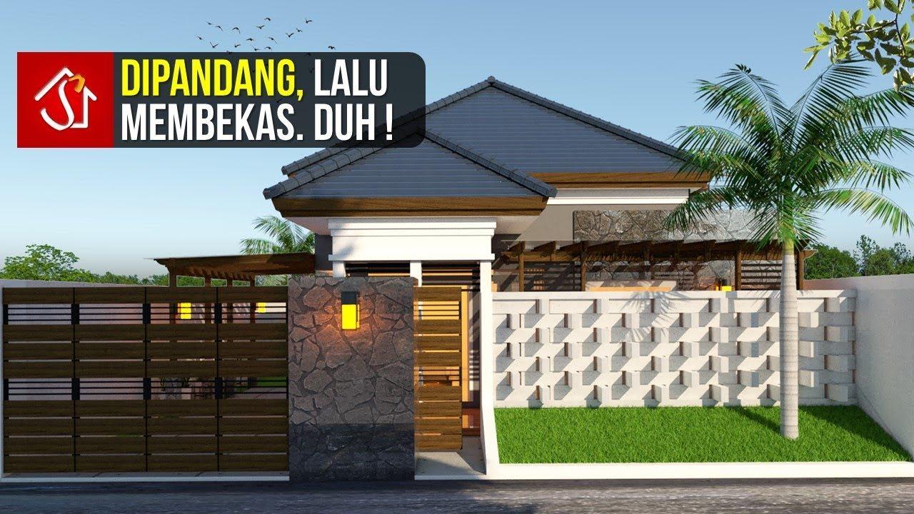 Desain Rumah 1 Lantai 4 Kamar di Lahan 11x22 m - YouTube