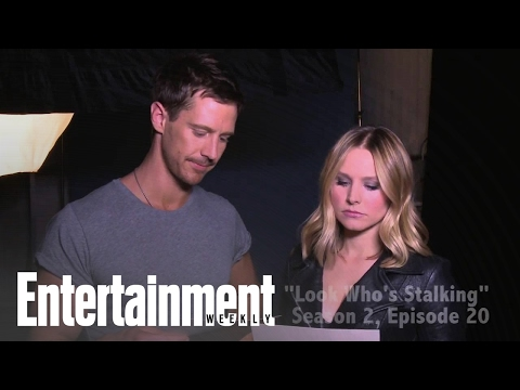 Veronica Mars: Kristen Bell and Jason Dohring Get Steamy  Cover Shoot  Entertainment Weekly