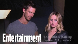 Veronica Mars: Kristen Bell and Jason Dohring Get Steamy!