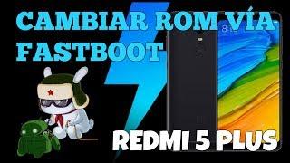 Cambiar ROM por Fastboot Xiaomi con Miflash