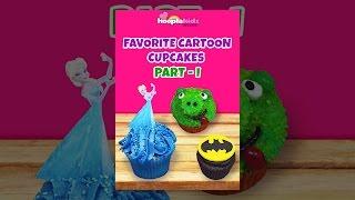 Votre dessin animé préféré cupcakes - Partie 1