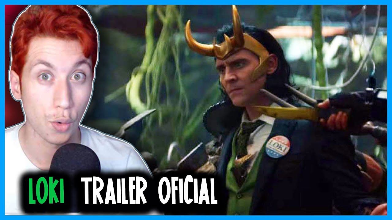 REACT Loki | Marvel Studios | Trailer Oficial Legendado | Disney+