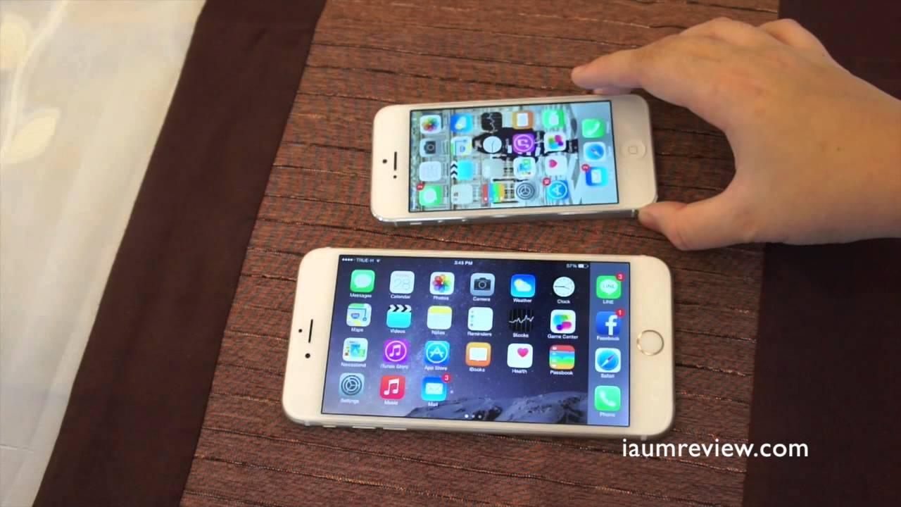 Pubg Hd Iphone 6: [HD] รีวิว IPhone 6 Plus แบบไทยไทย :EP5: พูดได้ว่าชอบมาก