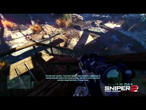 Sniper: Ghost Warrior 2 Gameplay Video (PC, PS3, Xbox 360)