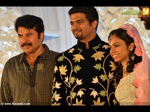 Director Siddique Daughter Sara Wedding Reception