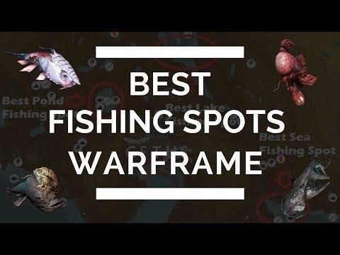 Best Fishing Spots In Warframe (Pond, Sea & Lake)