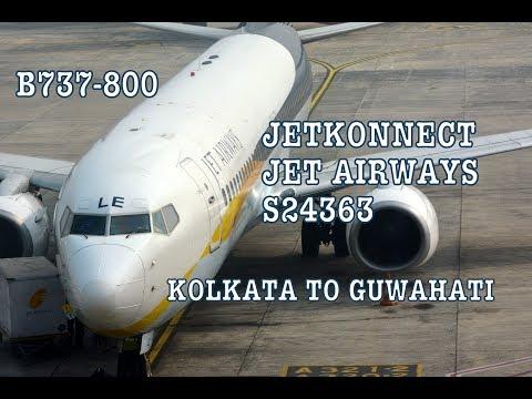 #59 JetKonnect/Jet Airways | Kolkata to Guwahati | Boeing 737-800 | TRIP REPORT & REVIEW | Economy
