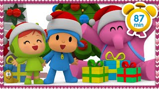 ☃ Pocoyo In English   Christmas Holidays [87 Minutes] | Full Episodes | Videos And Cartoons For Kids