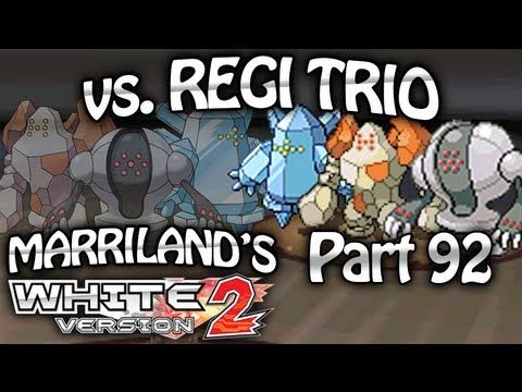 Pokemon White 2, Part 92: Regirock, Regice & Registeel