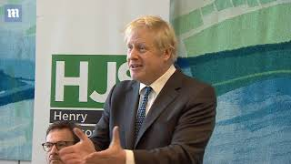 Boris Johnson says there's no point in doing a deal with Labour