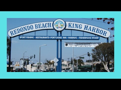 Beautiful King Harbor at Redondo Beach, California (USA)
