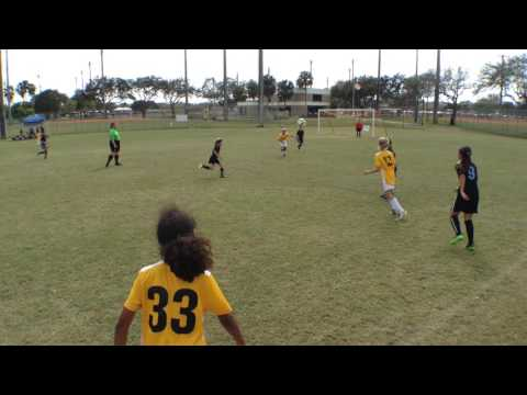 Weston Cup - Sunrise vs Weston U10 Girls Finals