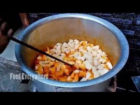 Aloo Gobhi Sabzi | Prepared For 100 People | Indian Cooking |  Spicy Food
