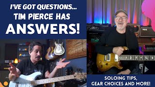 TIM PIERCE tells us what GEAR we NEED and TEACHES his SOLOING ideas!