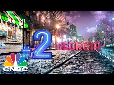 Georgia The Second Top State For Business | CNBC