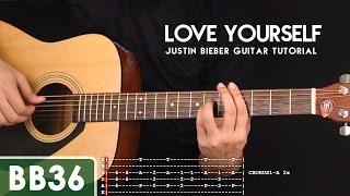 Love Yourself - Justin Bieber Guitar Tutorial