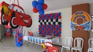 THEMED PARTY DECORATION | CARS