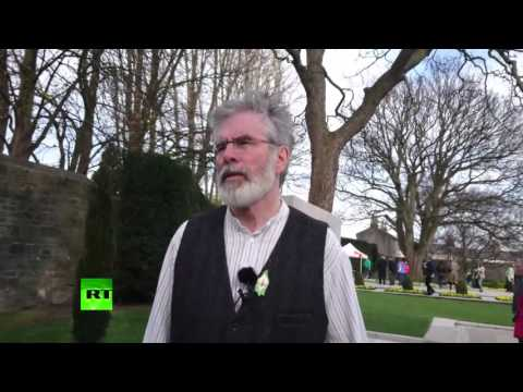 'Remarkable Pride' – Sinn Fein leader Gerry Adams on 1916 Rising commemoration