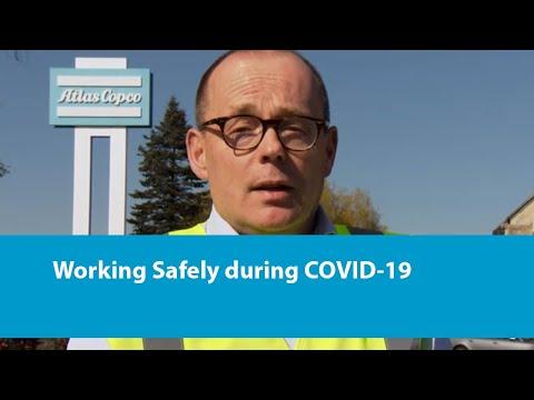 Een Veilige Werkomgeving In Tijden Van COVID-19  - Working Safely During COVID-19