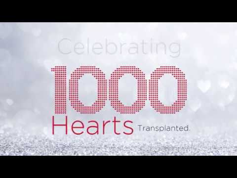 Celebrating 1,000 Heart Transplants And Countless Lives Touched