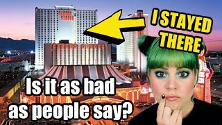 I stayed at the CHEAPEST room at Circus Circus Hotel in Las Vegas. Here's what happened....