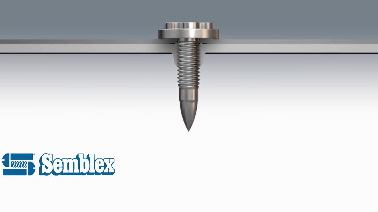 semblex fds u00ae flow drill screw
