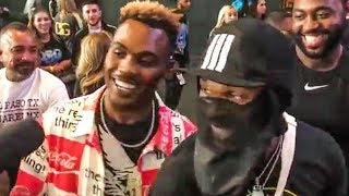 Charlo Brothers BET EACH OTHER! on Garcia vs Porter