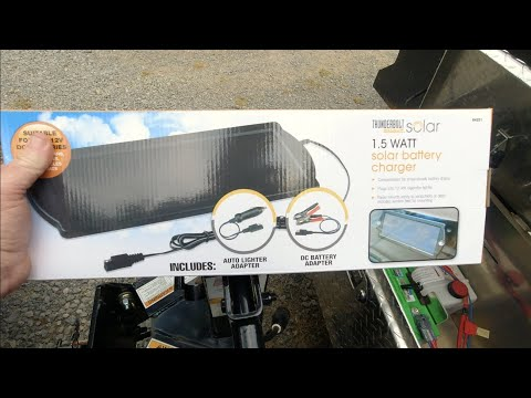 Will it WORK? Harbor Freight $14 99 Solar Battery Charger