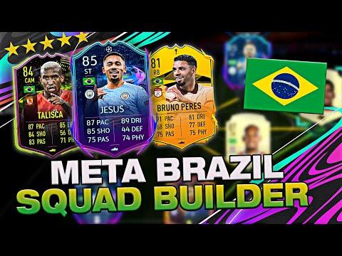 INCREDIBLE META BRAZIL SQUAD BUILDER! | FIFA 21 Ultimate Team