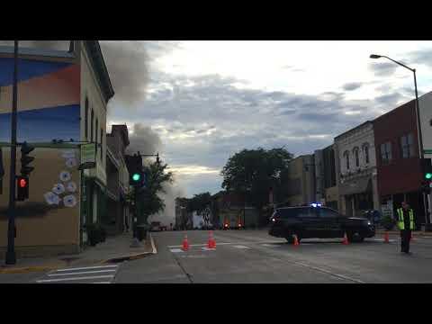 Barr House Explosion Sun Prairie, WIsconsin. July 10, 2018