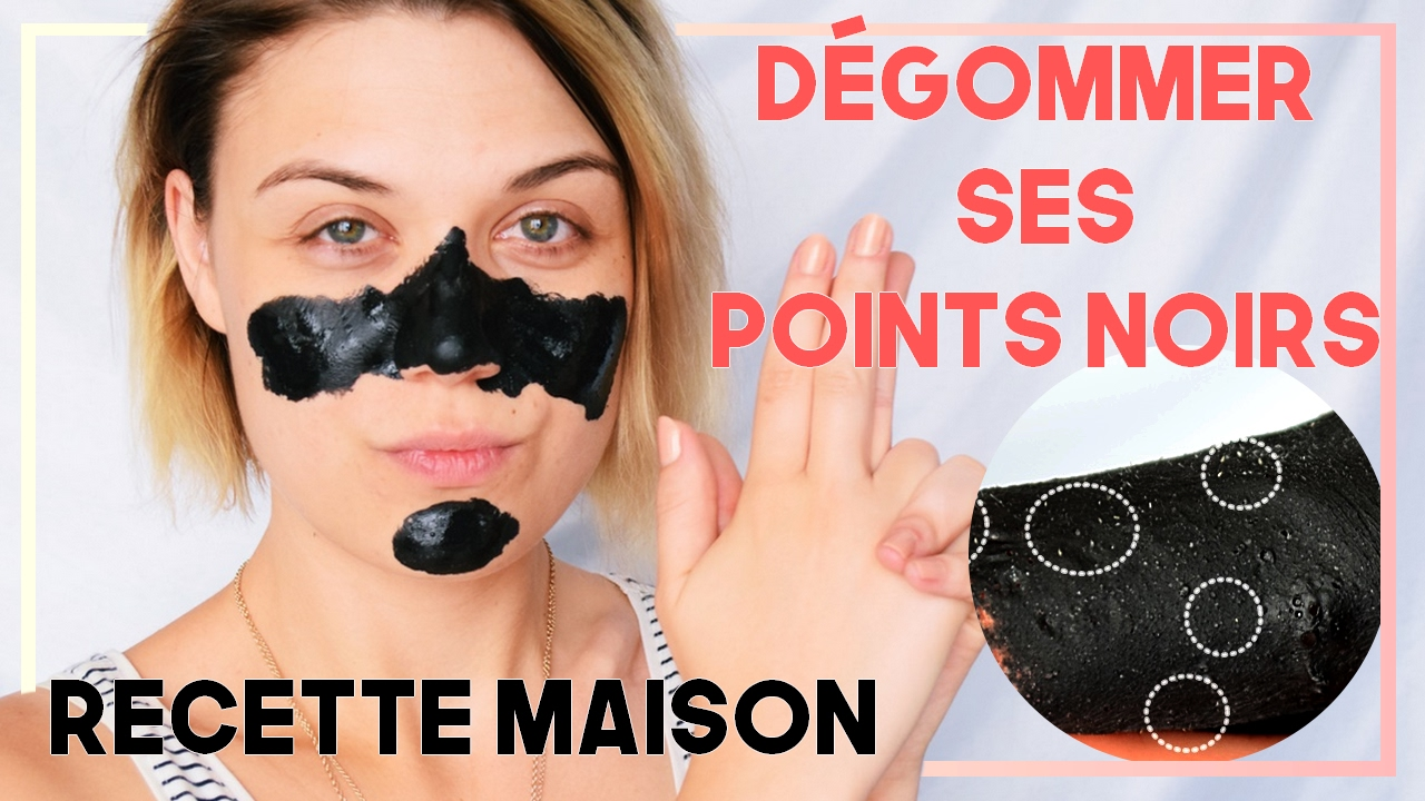 Super BYE BYE POINTS NOIRS ! Recette masque anti-point noir maison Ultra  MS28
