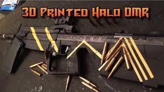3D Printed Halo DMR