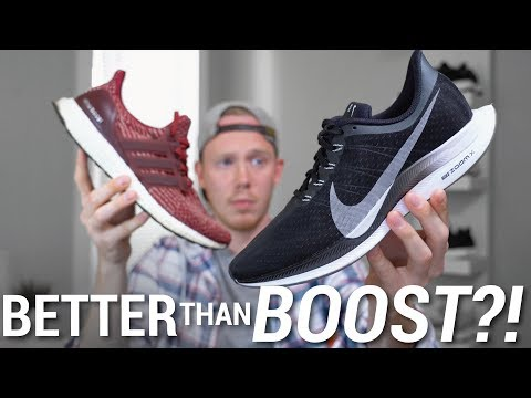 new style 23161 7efbe BETTER THAN BOOST?! NIKE PEGASUS 35 TURBO VS ADIDAS ULTRA ...