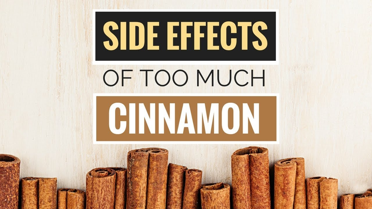 5 Side Effects of Too Much Cinnamon - YouTube