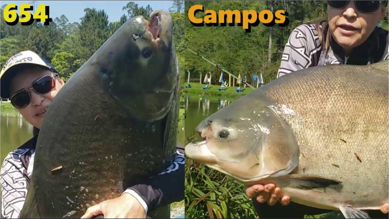 Os Tambas da Estância Pesqueira Campos com o Fishingtur - Programa 654
