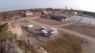 Первая поездка на автодоме. #автодом #финляндия