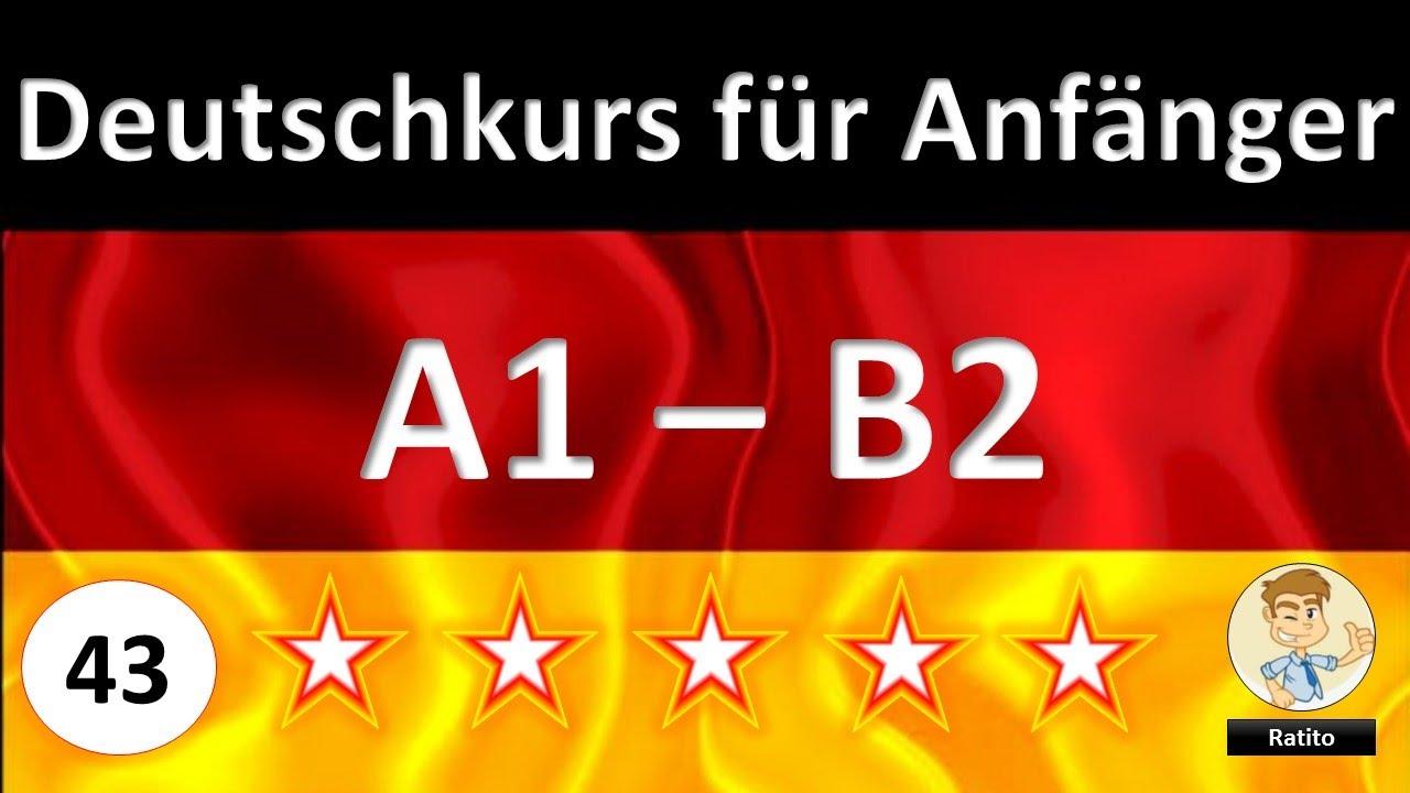 43 deutschkurs f r anf nger a1 bis b2 abfallen leichtfallen hinfallen youtube. Black Bedroom Furniture Sets. Home Design Ideas