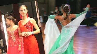 Соревнования По Бальным Танцам в Молдове, Кишинев. Ballroom Dances Competition in Moldova