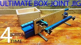 KWIK SET Box-joint jig fastest/best by far(watch my other video on it went more in depth)